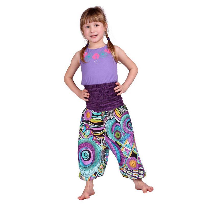 Dětské kalhoty Purple Love