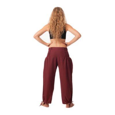 Kalhoty Segi Merun