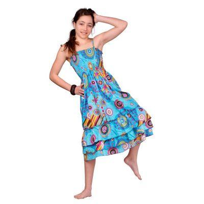 Šaty Mawar Turquoise