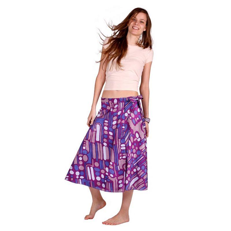 Zavinovací sukně Dewa Ungu