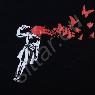 Tričko Vypuštění motýlů