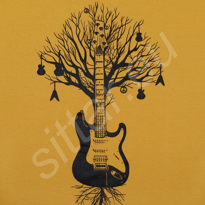 Tričko Guitar Tree