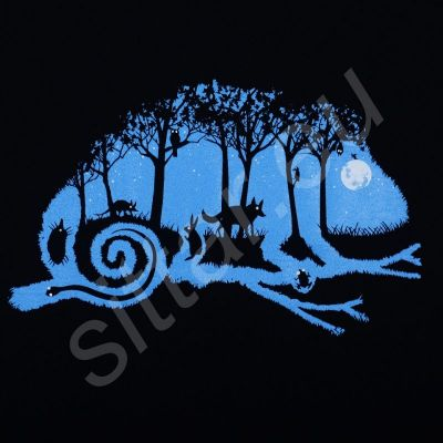 Tričko Noc v lese