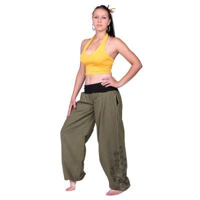 Kalhoty Sulaman Hijau