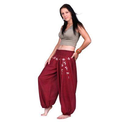 Kalhoty Sabuk Merun