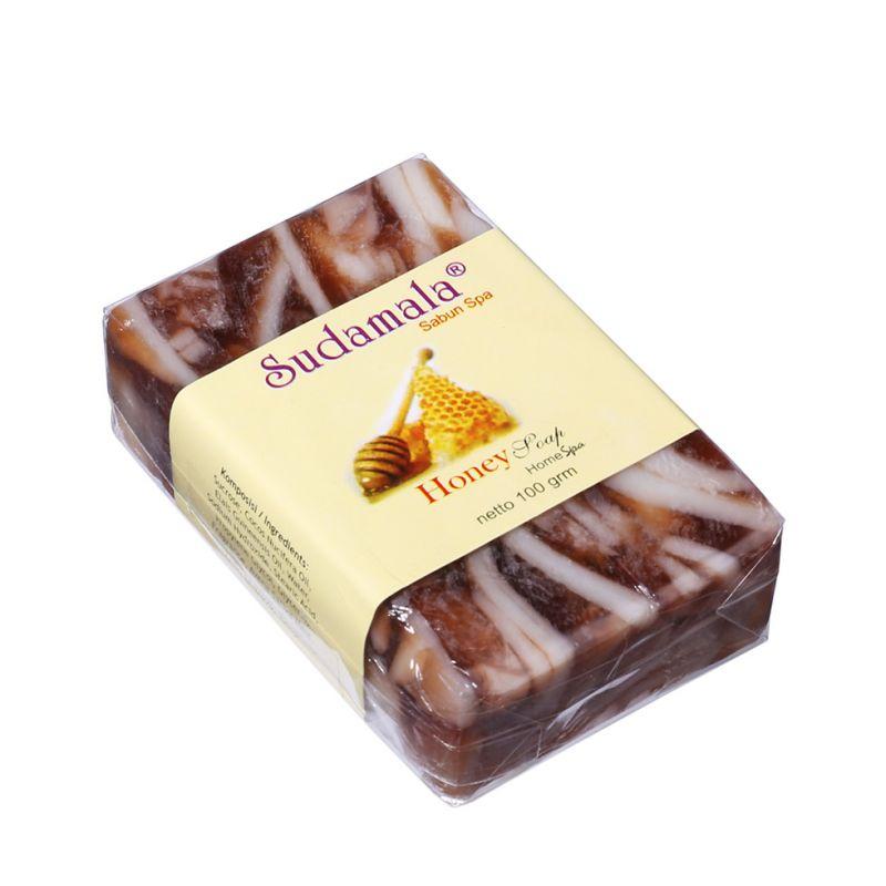 Kokosové mýdlo Sudamala Honey s vůní medu