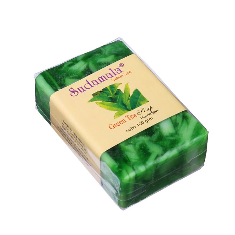 Kokosové mýdlo s vůní zeleného čaje