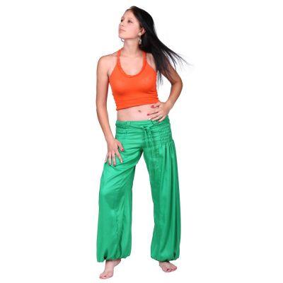 Kalhoty Segi Green Rayon
