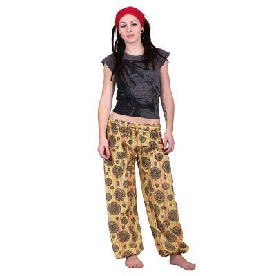 Kalhoty Gisan Kuning