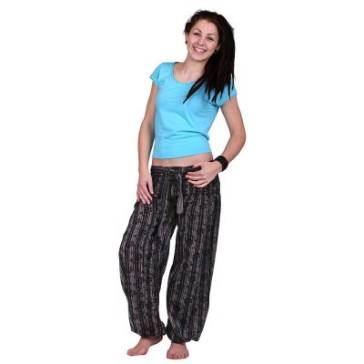 Kalhoty Gisan Hitam