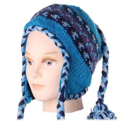 Vlněná čepice Manaslu Blue