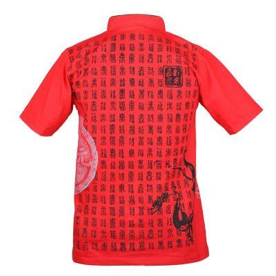 Pánské tričko Emperor Pinyin Red