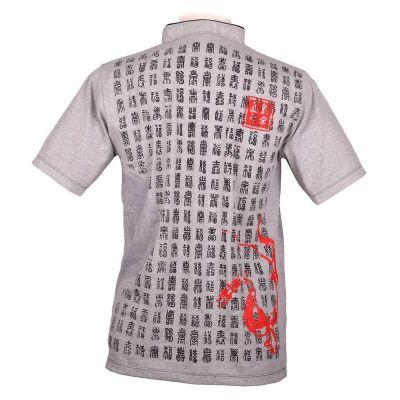 Pánské tričko Emperor Pinyin Grey
