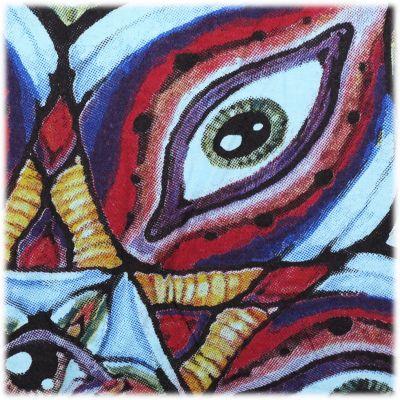 Tričko značky Mirror - Eye Mandala Turquoise