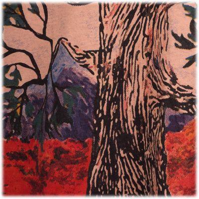 Tričko značky Mirror -Tree of Peace Brown