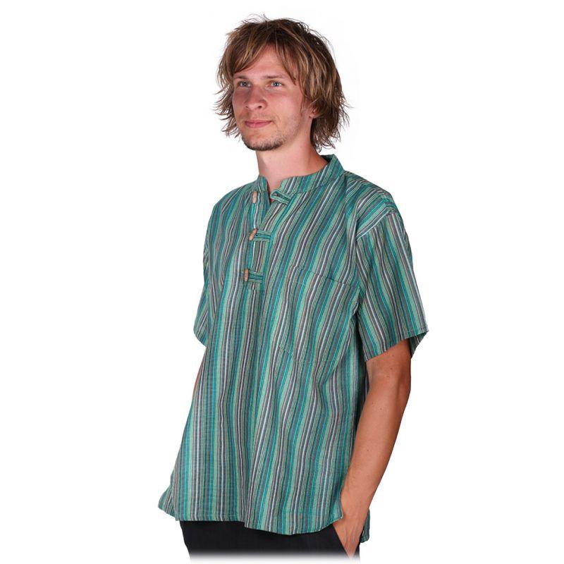 Kurta Pendek Harris - pánská košile s krátkým rukávem