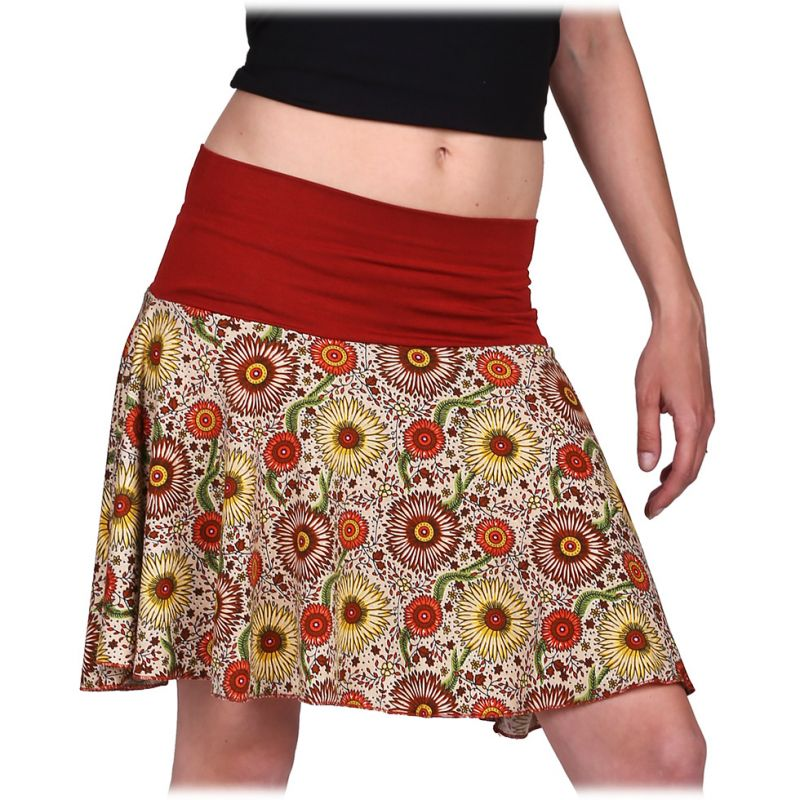 Kolová mini sukně Lutut Matahari Thailand