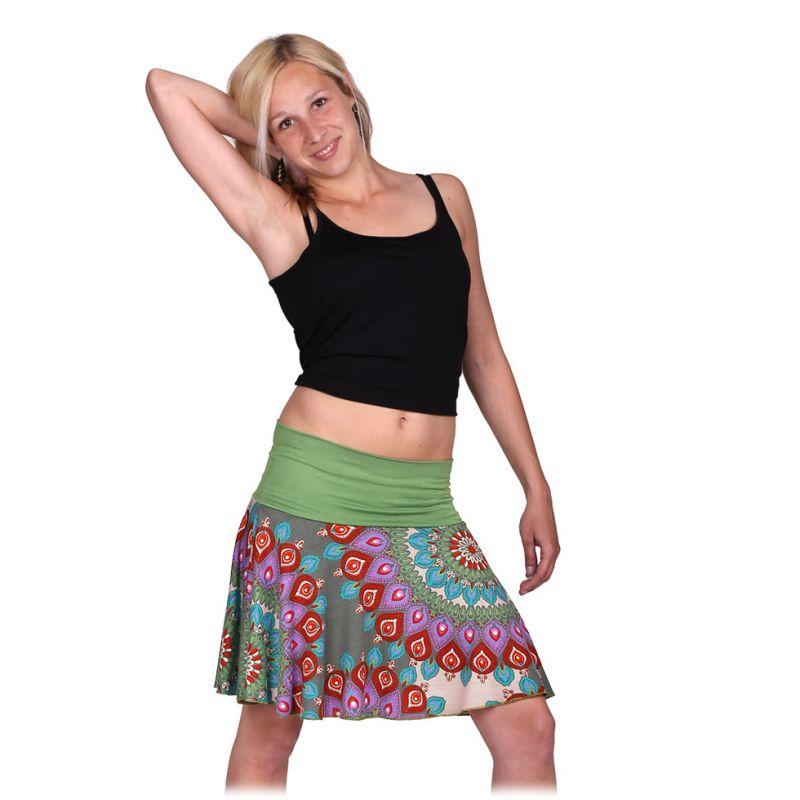 Kolová mini sukně Lutut Lirak Thailand
