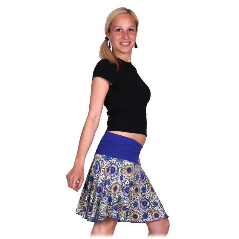 Kolová mini sukně Lutut Akar Thailand