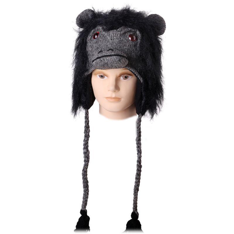 Vlněná čepice Gorila