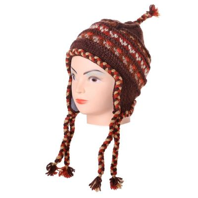 Vlněná čepice Annapurna Brown
