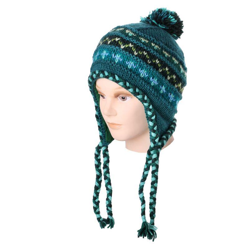 Vlněná čepice Annapurna Turquoise
