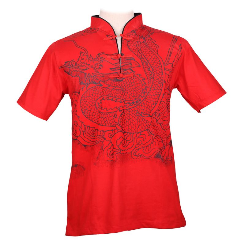 Pánské tričko Emperor Dragon Red