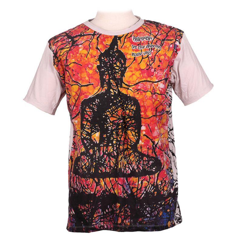 Tričko značky Mirror - Buddha