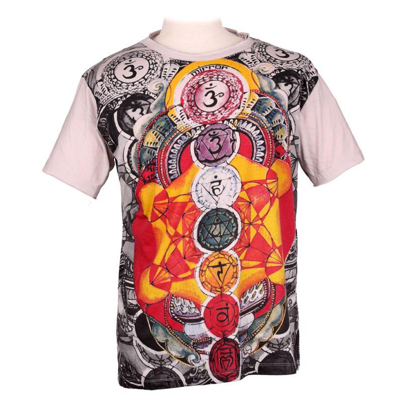 Tričko značky Mirror - Chakras
