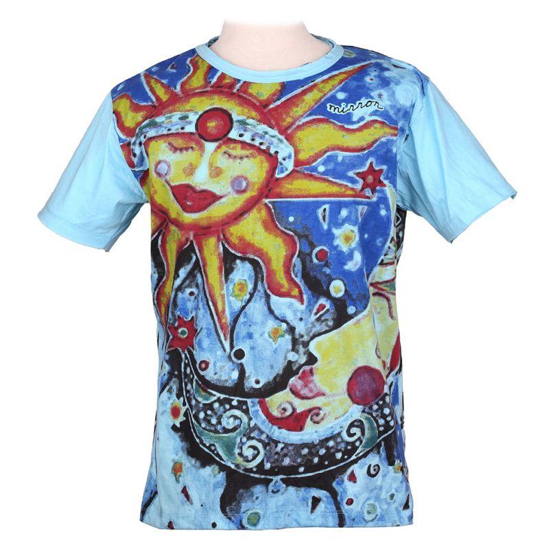 Tričko značky Mirror - Sun&Moon