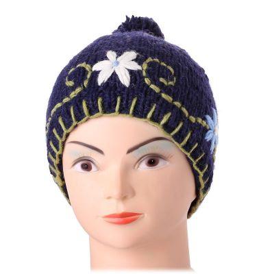 Vlněná čepice Bunga Biru