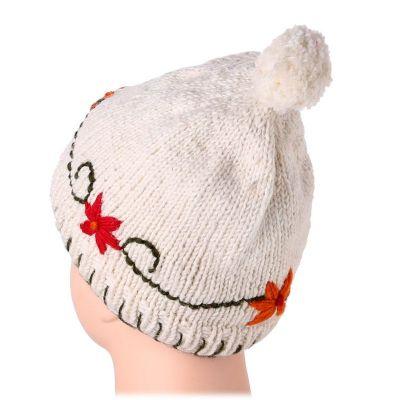 Vlněná čepice Bunga Putih