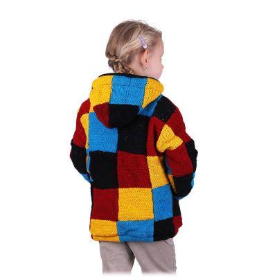 Vlněný svetr Colour Cubes