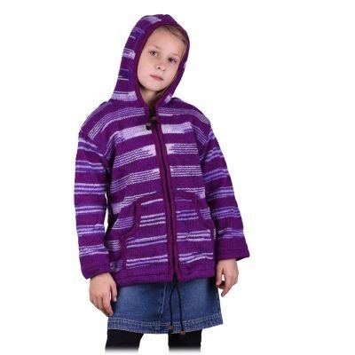 Vlněný svetr Purple Queen
