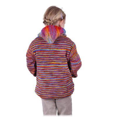Vlněný svetr Rainbow Flight