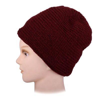Vlněná čepice Arna Red