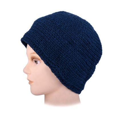 Vlněná čepice Arna Blue