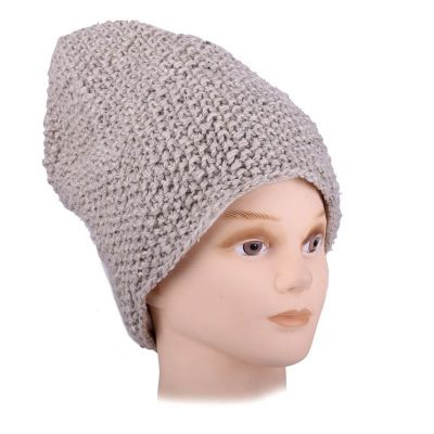 Vlněná čepice Istri Beige