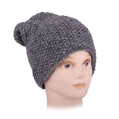 Vlněná čepice Istri Grey