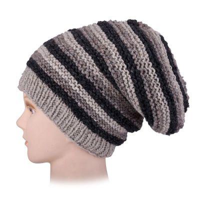 Vlněná čepice Istri Stripe