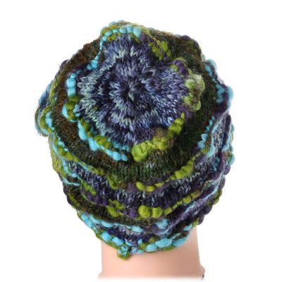 Vlněná čepice Indah Pirus