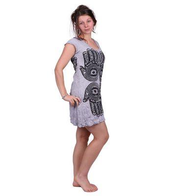 Šaty (tunika) Sure Hamsa Grey