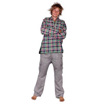 Pánské bavlněné kalhoty Saku Kelabu Nepal