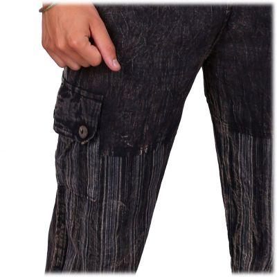 Pánské kalhoty Kirtipur Hitam