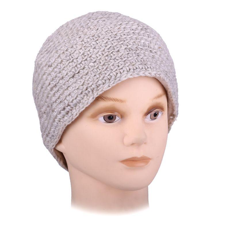 Vlněná čepice Arna Beige