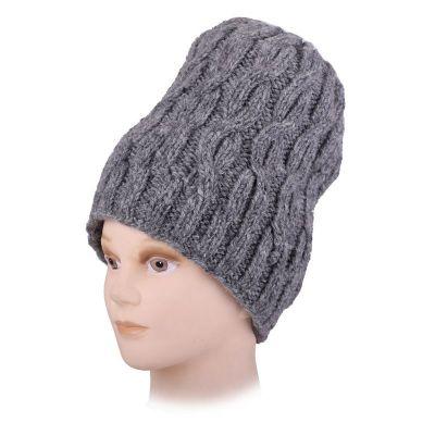 Vlněná čepice Lembu Grey