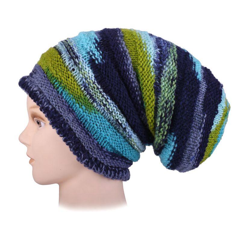 Vlněná čepice Ulat Turquoise