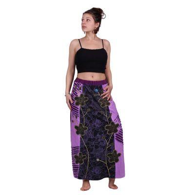 Dlouhá vyšívaná etno sukně Surga Ungu