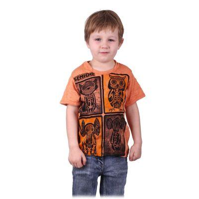 Tričko Sure Animal X-Ray Orange | M