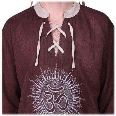 Kurta Matahari Hutan - pánská košile s dlouhým rukávem
